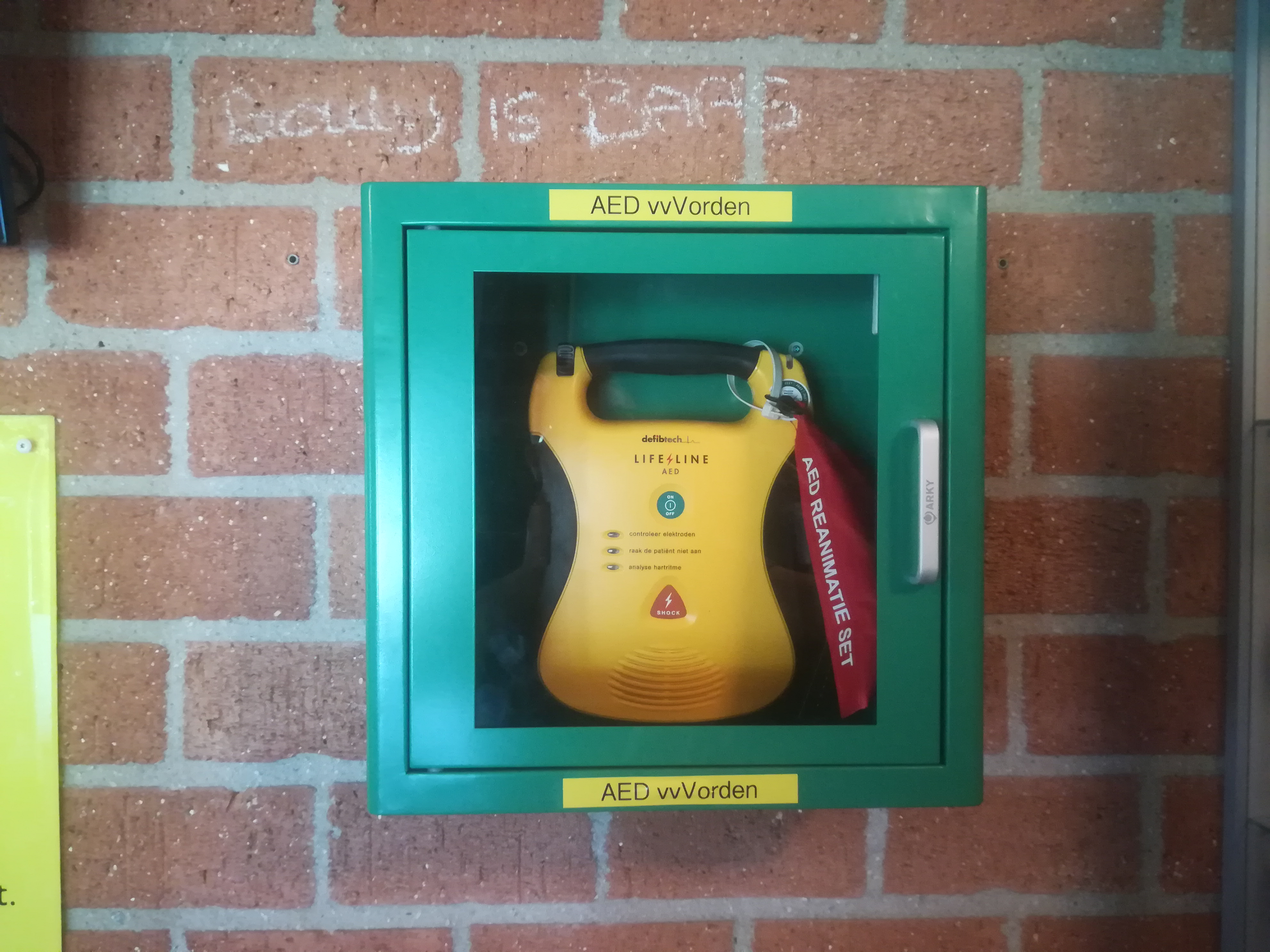 Reanimatie & AED training bij VV Vorden