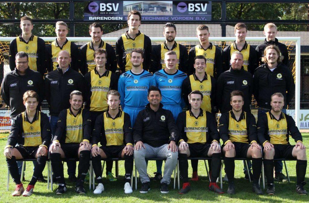 Vorden verslaat met 5-0 Sportclub Lochem in 1e ronde Achterhoek Cup