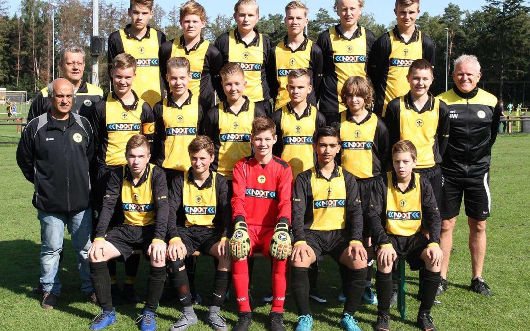 Vorden JO17-2 seizoen 2018-2019 - vv Vorden