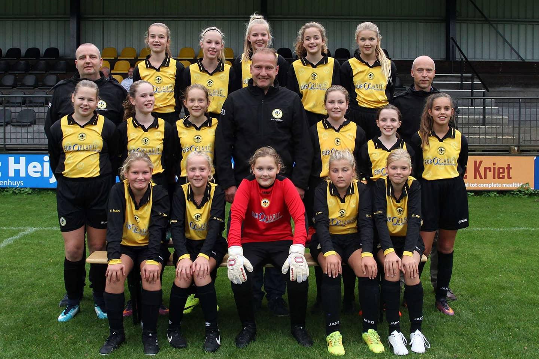 Vorden MO13-1 seizoen 2018-2019 - vv Vorden