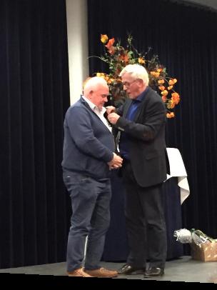 Gouden KNVB-speld voor vordenaar Henk de Jonge