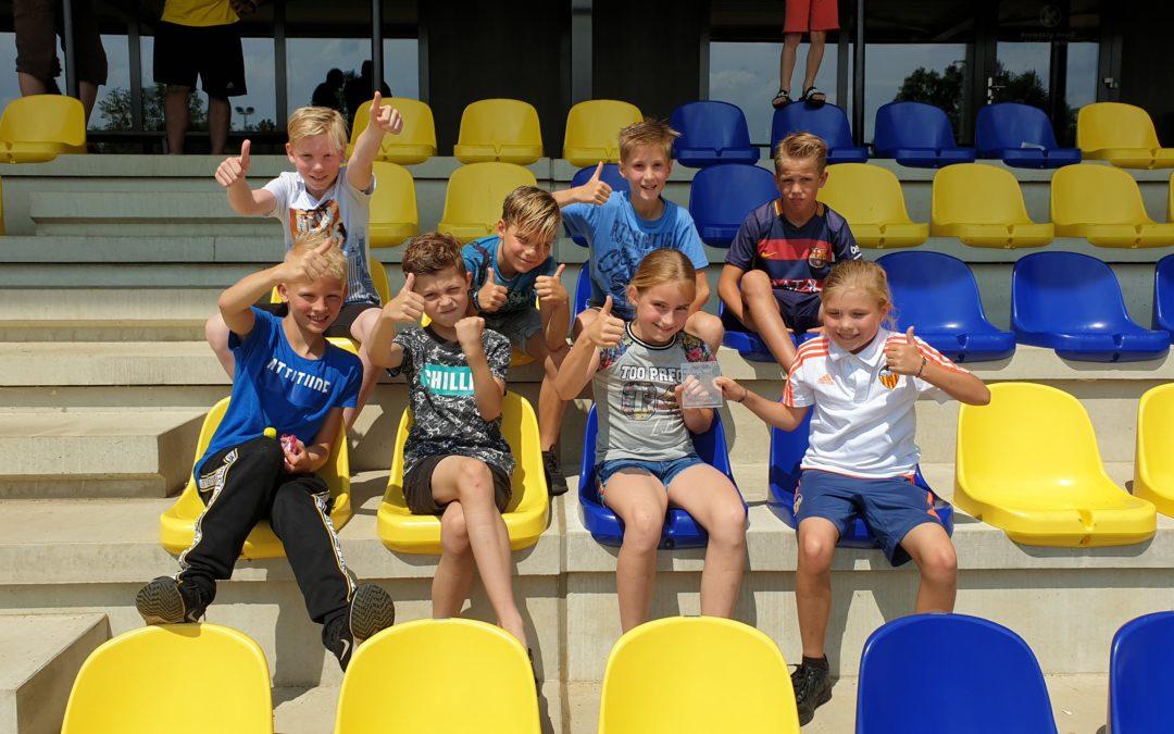 Mooie 4e plaats voor vv Vorden O11-3 in Doetinchem