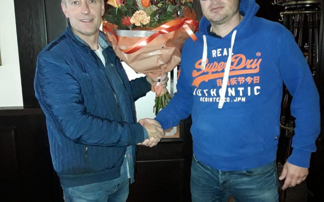 v.v. Vorden feliciteert de sponsoren 'De Herberg' en 'Vordense Tuin'