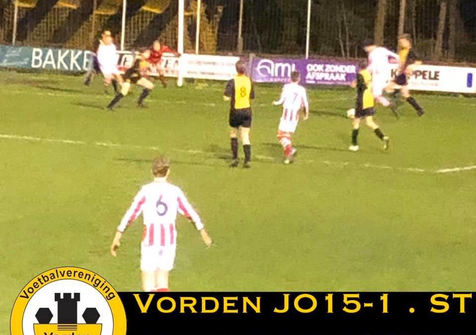 Vorden JO15-1 in halve finale Achterhoek Cup
