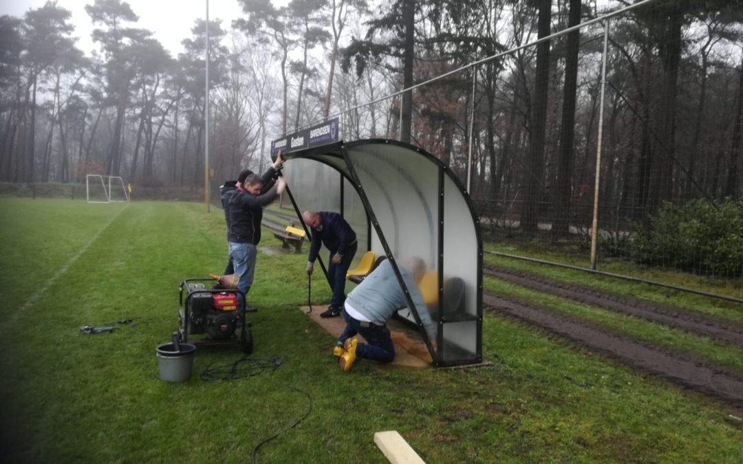 Vrijwilligers gevraagd voor komende drie zaterdagen – Aanleg Kunstgrasveld