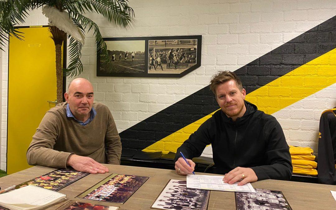 Wouter Schouten nieuwe trainer v.v. Vorden ,seizoen 2021-2022