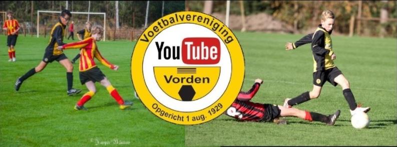 Nieuw item op YouTubekanaal v.v. Vorden