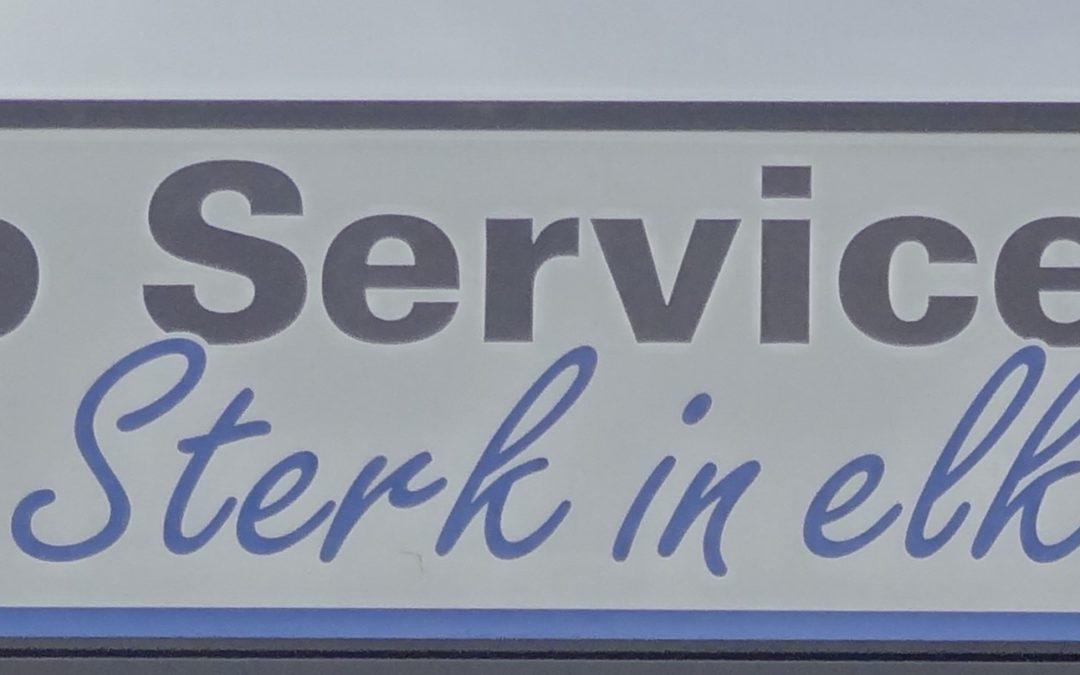 Nieuwe bordsponsor: Auto Service Vorden