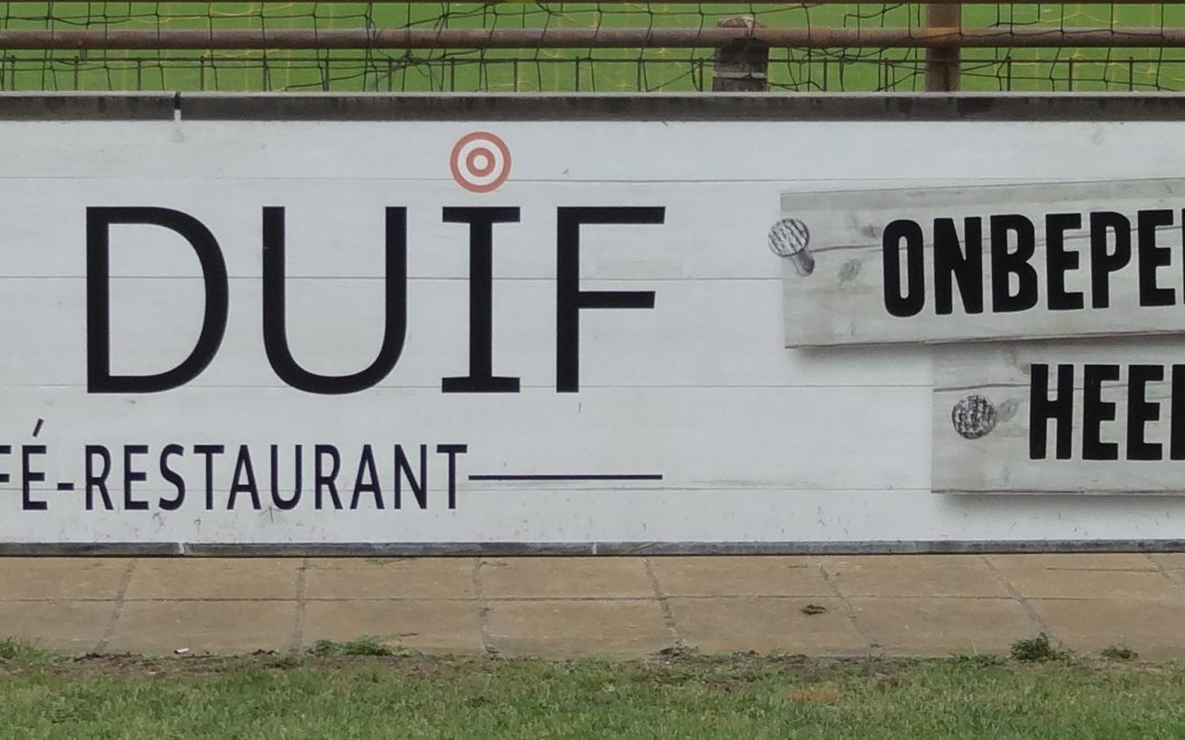 Nieuwe bordsponsor: Café-Restaurant De Duif