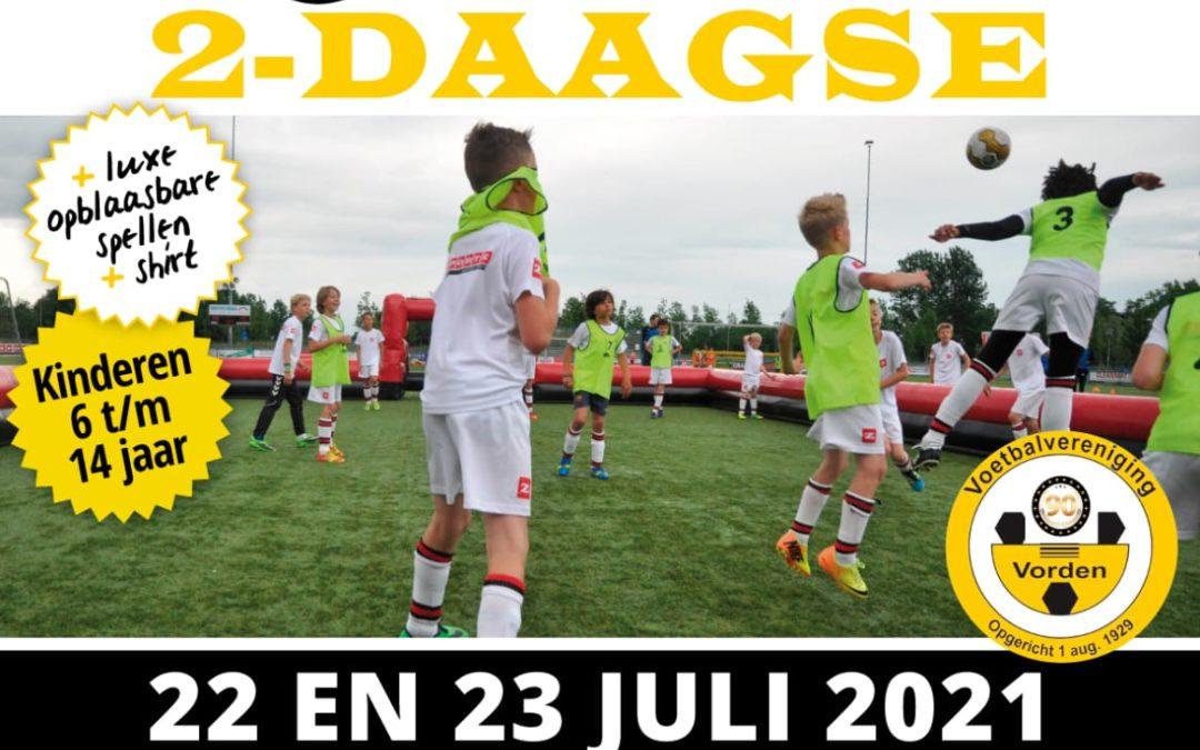 Zportz voetbal 2-daagse op 22 & 23 juli