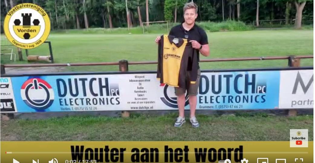 Interview met nieuwe hoofdtrainer Wouter Schouten